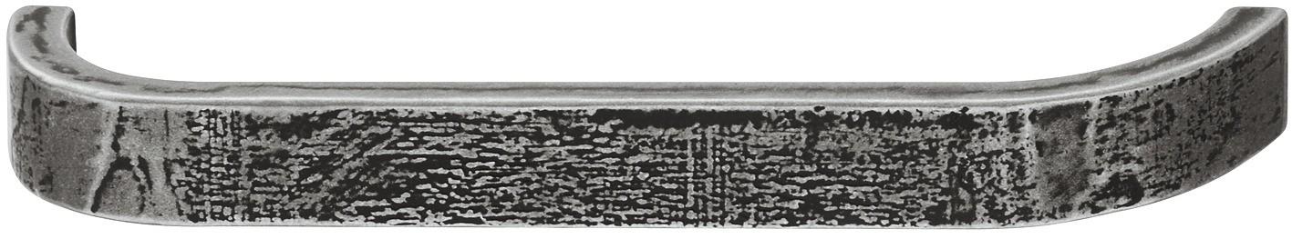 Image of   Bøjlegreb i jernfarvet zinklegering - brugt look