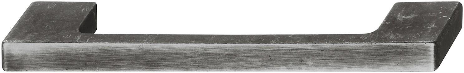 Image of   Bøjlegreb med brede sokler jernfarvet zinklegering, frontfladen lysnet - brugt look