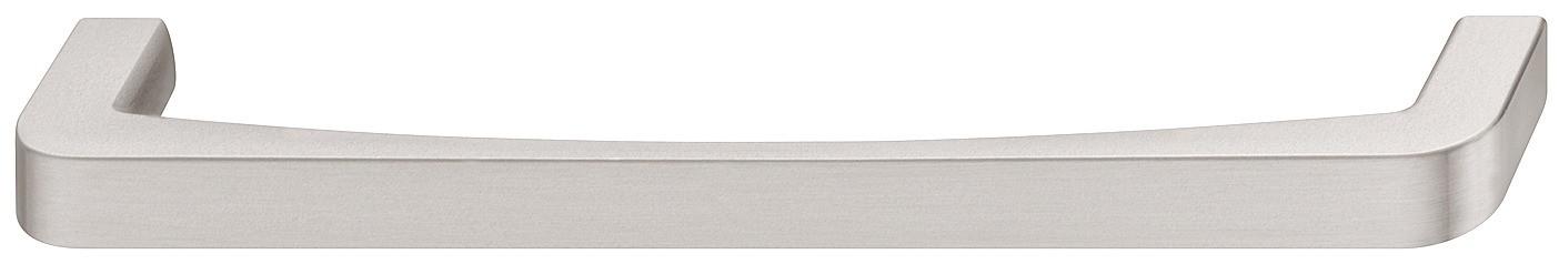 Image of   Blød rundet bøjlegreb i forniklet børstet zinklegering