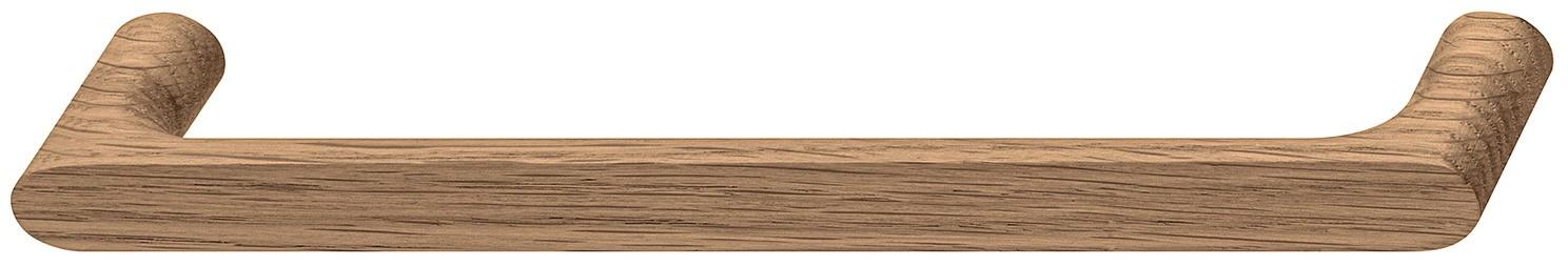 Image of   Nydelig bøjlegreb i natur lakeret egetræ