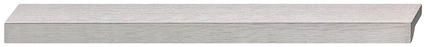 Image of   Tidløs flot og enkel gribeliste i stålfarvet aluminium