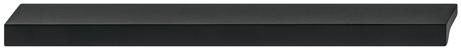 Image of   Tidløs flot og enkel gribeliste i sort mat aluminium