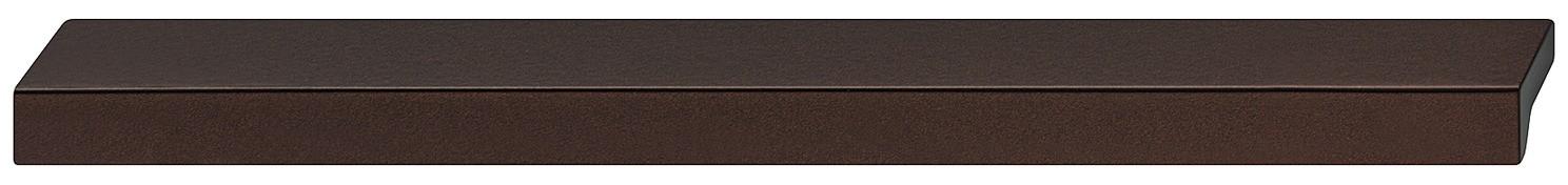 Image of   Tidløs flot og enkel gribeliste i brun metalicfarvet aluminium
