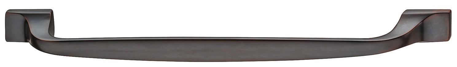 Image of   Traditionel bøjlegreb i bronzefarvet olieret børstet messing