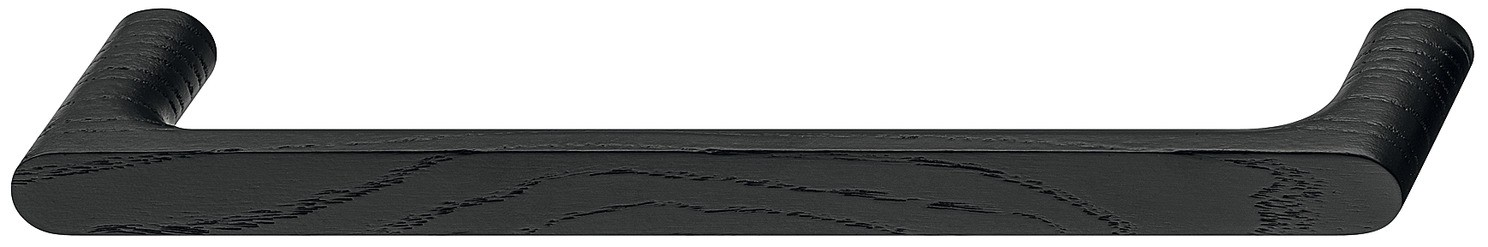 Image of   Nydelig bøjlegreb i sort bejdset ask