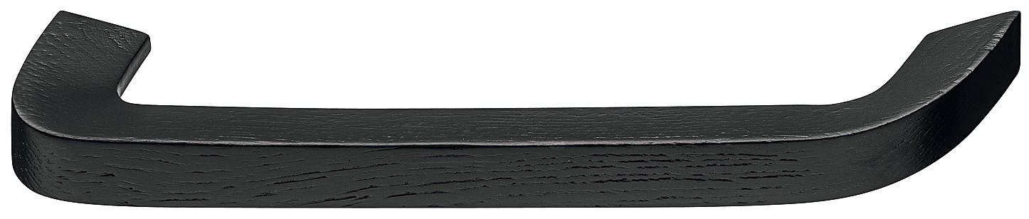 Image of   Tidløs buede bøjlegreb i sort bejdset ask