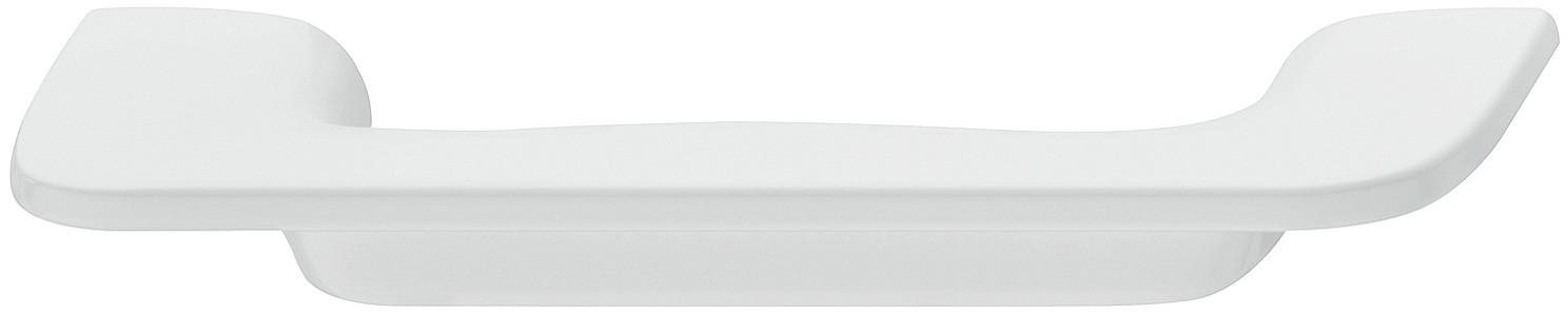 Image of   Bøjlegreb i mat hvid zinklegering - model H1760