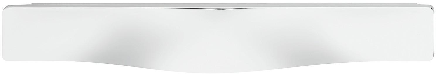 Image of   Flad skålegreb i forkrom poleret zinklegering - model H1765
