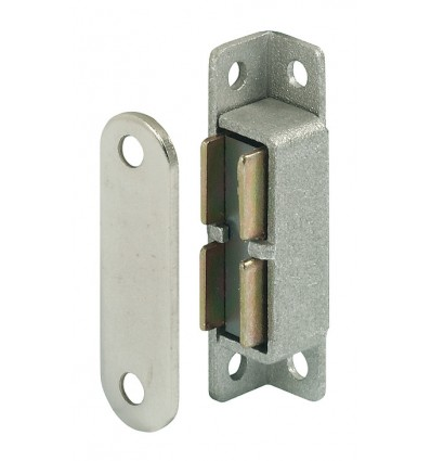 Magnetlås i aluminium - 5 kg - varmebestandig op til 300 grader