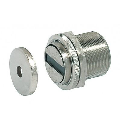 Stål magnetlås til metalskabe - holdestyrke 10 kg
