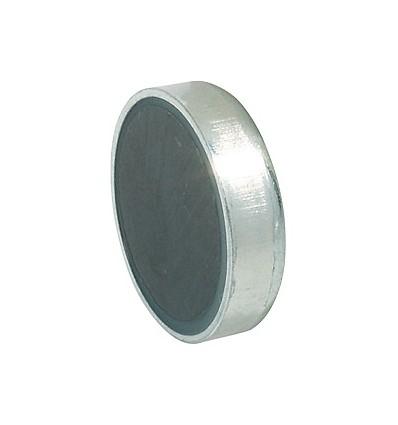 Forniklet stål magnetlås til metalskabe til påklæbning - Holdestyrke 3 kg