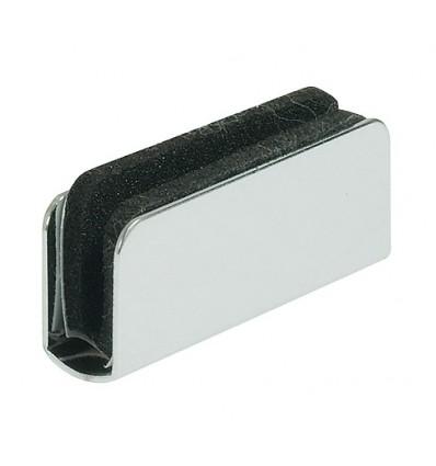 Modstykke til glaslåger - til glastykkelse 4-6 mm, til påklemning