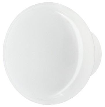 Knopgreb, Hvid porcelæn, Ø32-38mm