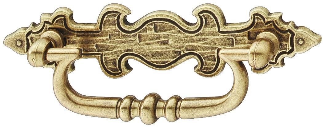 Image of   Greb, hængende, Brun antik, dekorativ bagplade