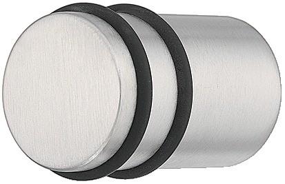 Image of   Knopgreb, rustfri stål, 2 gummi ringe, Ø20 mm