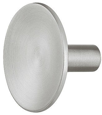 Image of   Knopgreb, rustfri stål, fladt rund hoved, Ø33 mm