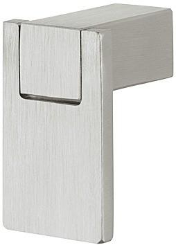 Image of   Knopgreb, rustfri stål, hængende fladt håndtag