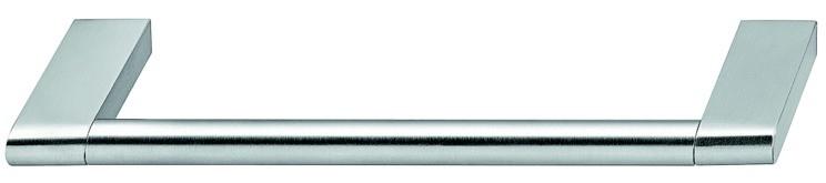 Greb, Rustfri stål, Mat børstet. 111-239mm