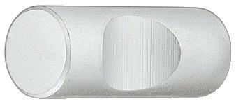 Image of   Knopgreb, Rund med fordybning, Forkrom mat, Ø11